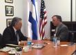 Embajador del Perú en Nicaragua, en visita de Cortesía al Presidente de AmCham.