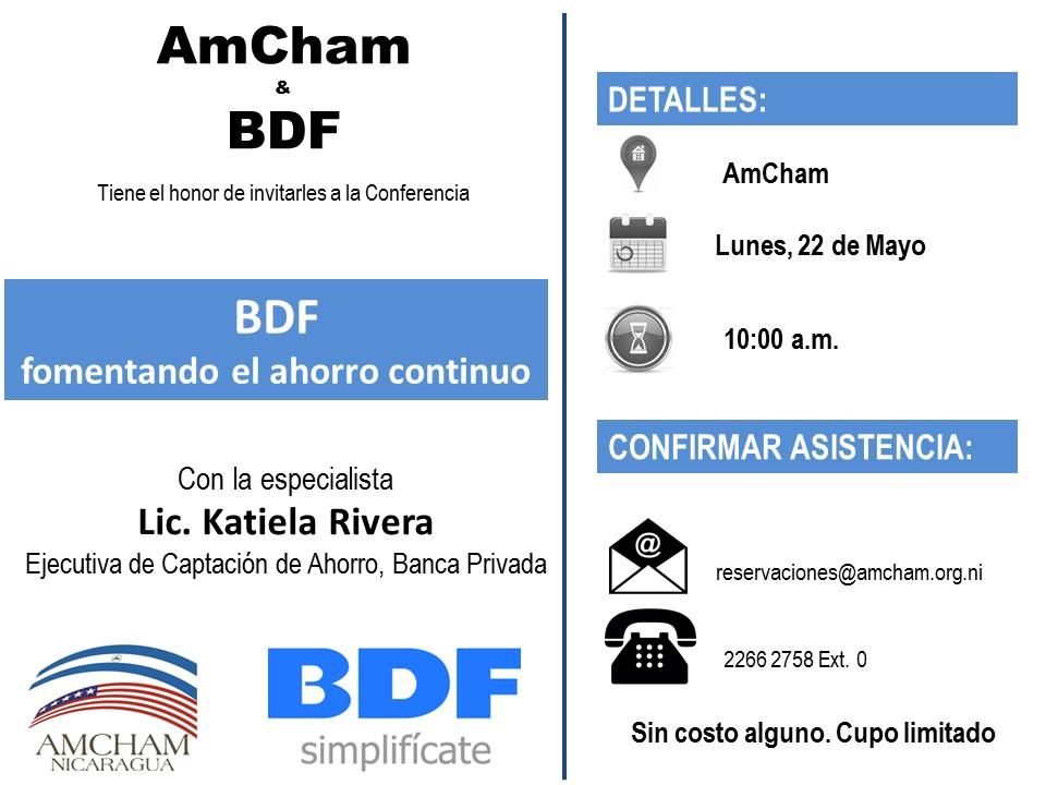 Fomentando el ahorro - BDF
