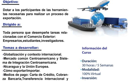 Curso Virtual sobre Comercio Exterior