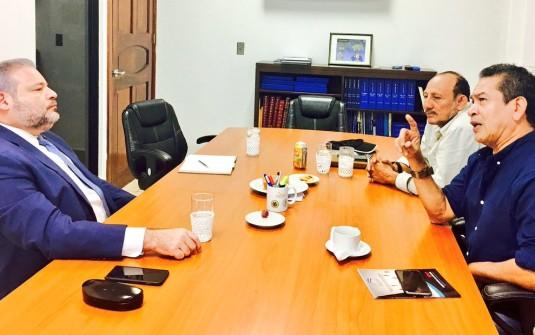 Presidente AmCham Nicaragua con Secretario General Central Sandinista De Trabajadores