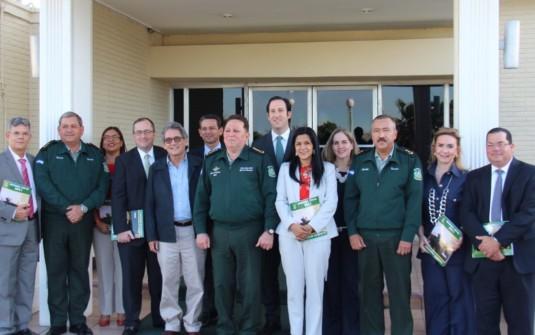Junta Directiva de AmCham, visita Comandancia del Ejército de Nicaragua