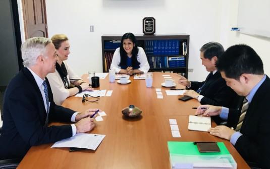 Visita de cortesía del nuevo Embajador del Japón en Nicaragua el Señor Yasuhisa Suzuki
